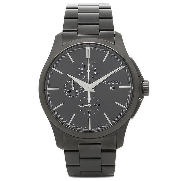 【6時間限定ポイント10倍】【返品OK】グッチ 腕時計 レディース GUCCI YA126274 ブラック