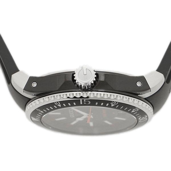 구찌 손목시계 GUCCI YA136303 블랙 실버