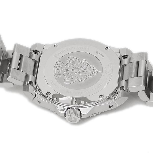 구찌 손목시계 GUCCI YA136311 블랙 실버