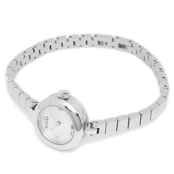 74ee0ff0b7d565 楽天市場】グッチ 腕時計 レディース GUCCI YA141503 シルバー:ブランド ...