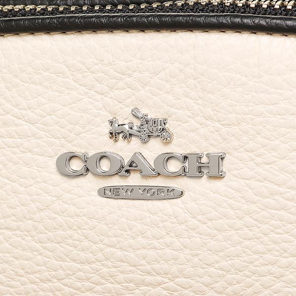 코치 COACH 토트 백 아울렛 F57486 SVCAH 화이트 블랙 브라운