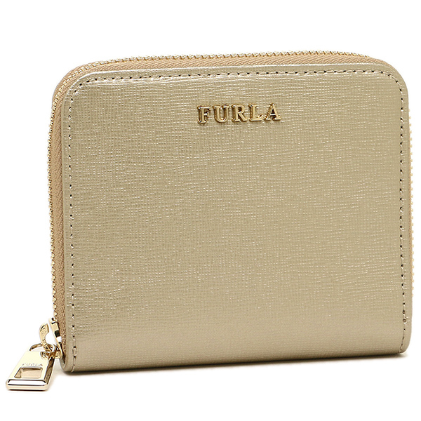 후르라 지갑 FURLA 851601 PR71 SFM CGD BABYLON S ZIP AROUND 반접기 지갑 COLOR GOLD