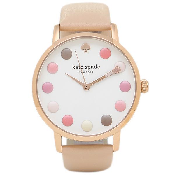 【4時間限定ポイント10倍】ケイトスペード 腕時計 KATE SPADE KSW1253 レディース ゴールド ベージュ