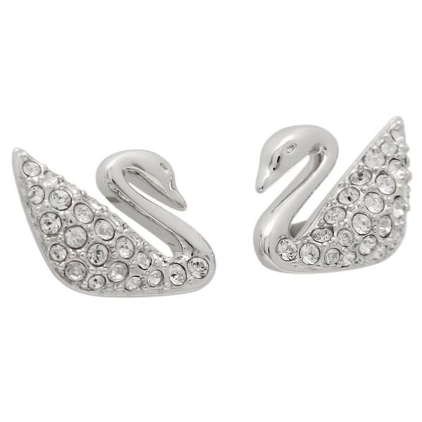 Swarovski Pierced Earrings 1116357 Silver Is Clear