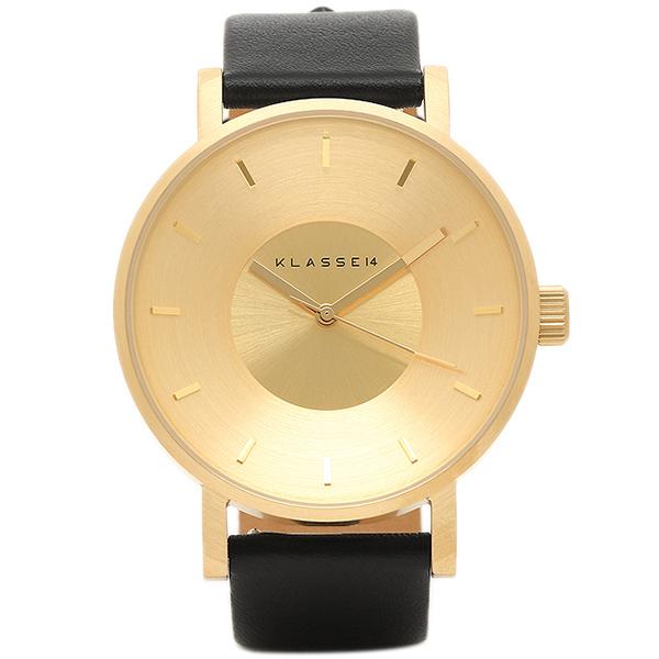 【6時間限定ポイント5倍】クラス14 腕時計 klasse14 VO14GD001M イエローゴールド ブラック