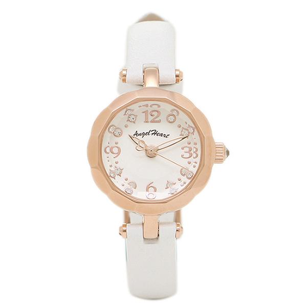 【返品OK】エンジェルハート 腕時計 ANGEL HEART BF21P-WH ホワイト ゴールド