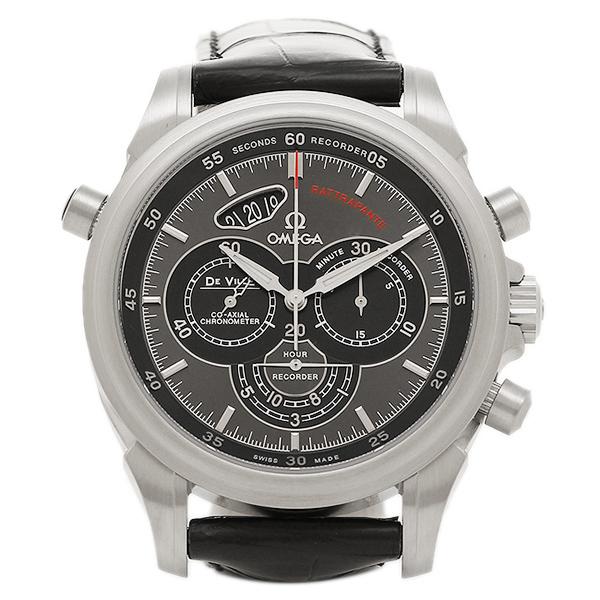 オメガ 腕時計 OMEGA 422.13.44.51.06.001 ブラック シルバー