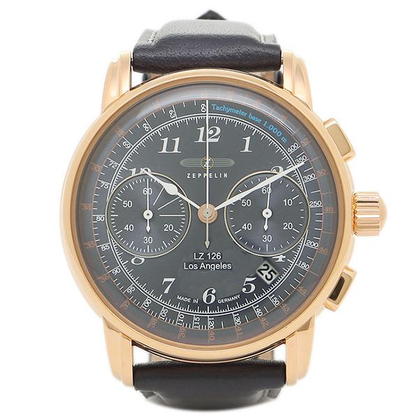 【返品OK】ツェッペリン 腕時計 ZEPPELIN 76163 ネイビー ゴールド
