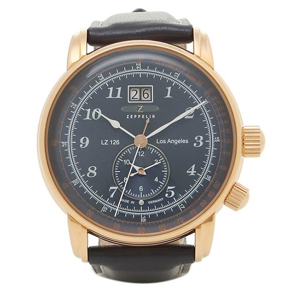 ツェッペリン 腕時計 ZEPPELIN 86463 ネイビー ゴールド