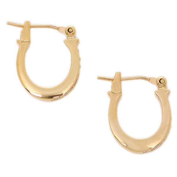 Coach Pierced Earrings Outlet F54497 Rgd Rose Gold
