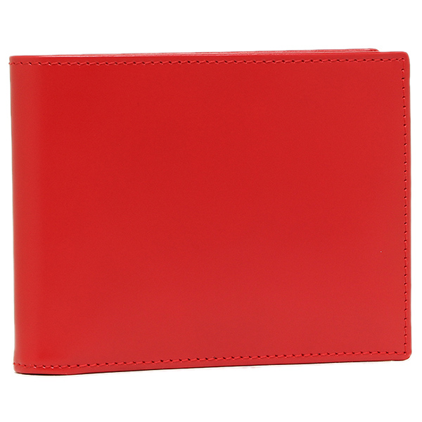 【4時間限定ポイント10倍】エッティンガー メンズ 折り財布 ETTINGER BH141JR レッド イエロー