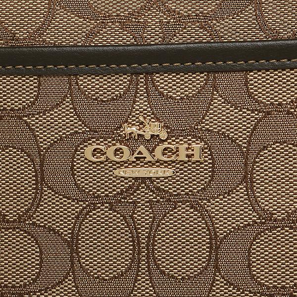 教练挎包奥特莱斯COACH F58285 IMC7C黄褐色棕色