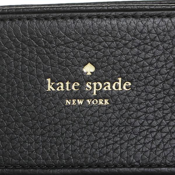 凯特黑桃大手提包奥特莱斯KATE SPADE WKRU4075 001女子的黑色