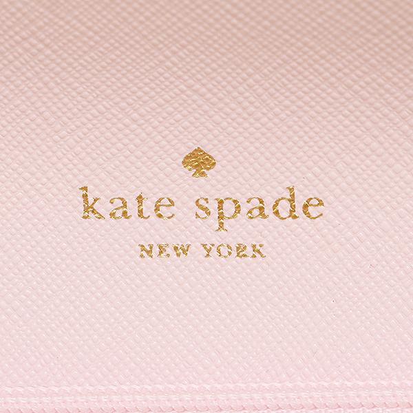 케이트 스페이드장 지갑 아울렛 KATE SPADE WLRU2840 696 레이디스 핑크