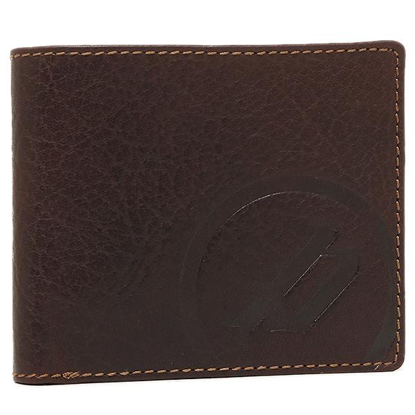 【4時間限定ポイント5倍】ポリス メンズ 折り財布 POLICE PLC113BRGD ブラウン ゴールド