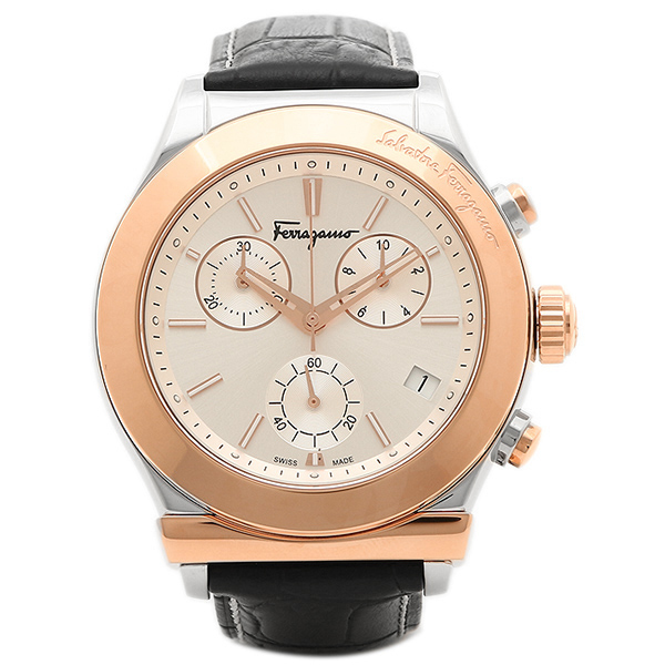 【38時間限定ポイント5倍】フェラガモ 腕時計 レディース Salvatore Ferragamo FH6040016 ブラック