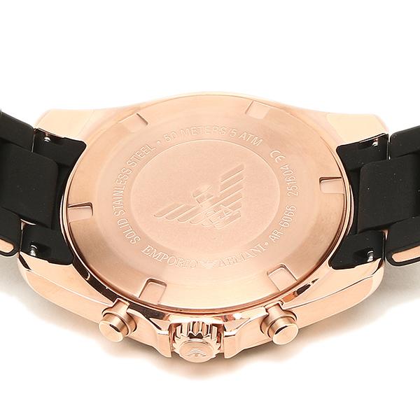 엔포리오아르마니 손목시계 EMPORIO ARMANI AR6066 블랙 로즈 골드