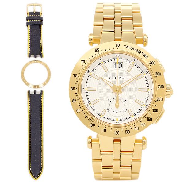 베르서치 손목시계 VERSACE VAH030016 실버 골드