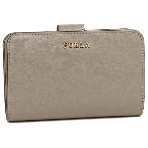 【4時間限定ポイント10倍】【返品OK】フルラ FURLA 折り財布 レディース 872838 PR85 B30 SBB ライトグレー