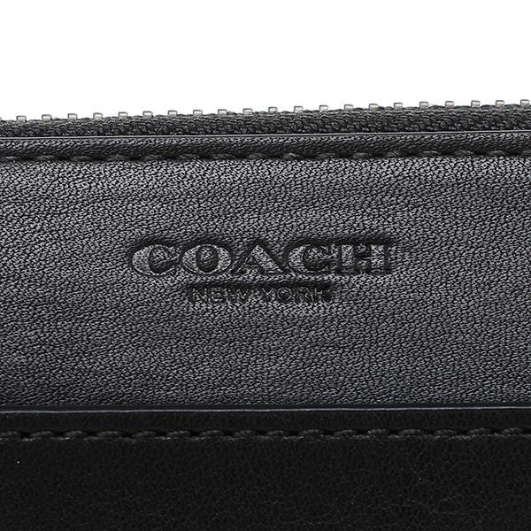 教练COACH长钱包74899 BLK黑色