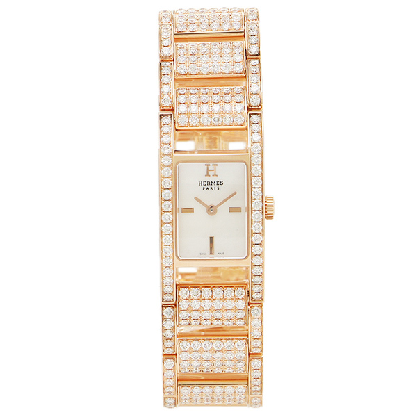 エルメス 腕時計 HERMES AC11722144011 ピンクパール レディース ゴールド