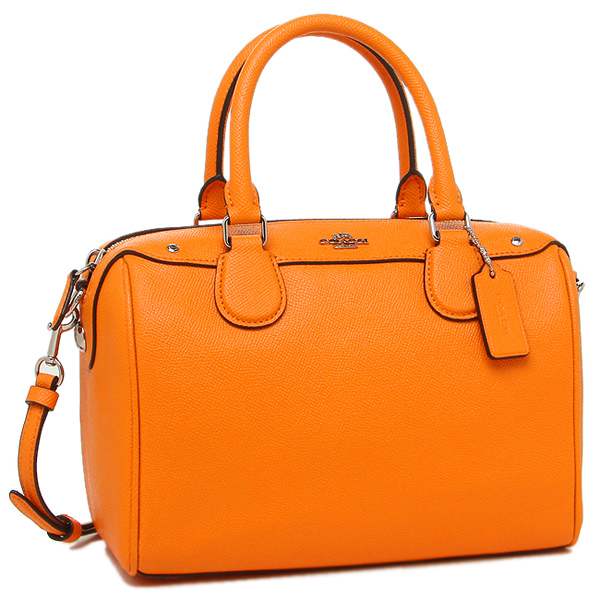 coach shoulder bag outlet 8nnt  Coach shoulder bag outlet COACH F57521 SV/OR orange