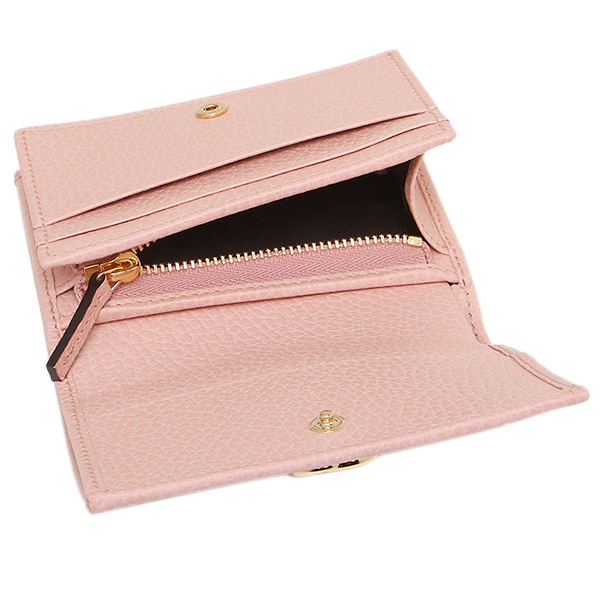 gucci card case gucci 456126 cao0g 5909 pink - Pink Card Holder