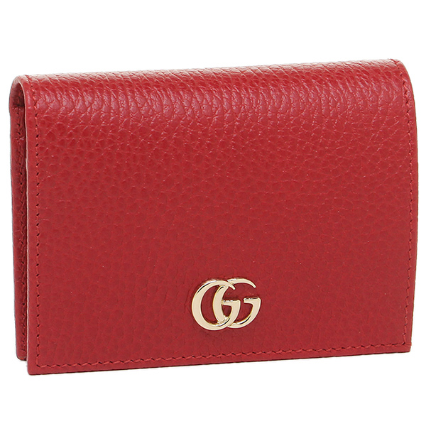 a100845d678 Brand Shop AXES  Gucci card case GUCCI 456126 CAO0G 6433 red ...
