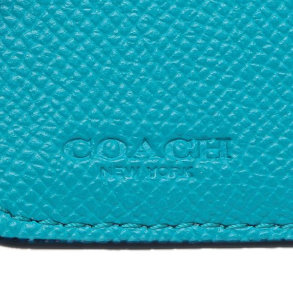코치때지갑 아울렛 COACH F57584 SVTU 블루