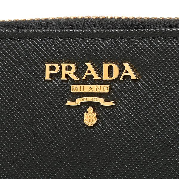 普拉达长钱包PRADA 1ML348 QWA F0002黑色