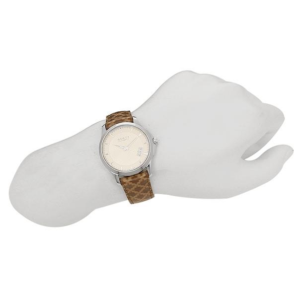 구찌 시계 맨즈 GUCCI G타임레스 손목시계 워치 화이트