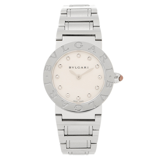 ブルガリ BVLGARI 時計 レディース 腕時計 ブルガリ 時計 BVLGARI BBL26WSS/12 ブルガリブルガリ 腕時計 ウォッチ シルバー/ホワイトパール