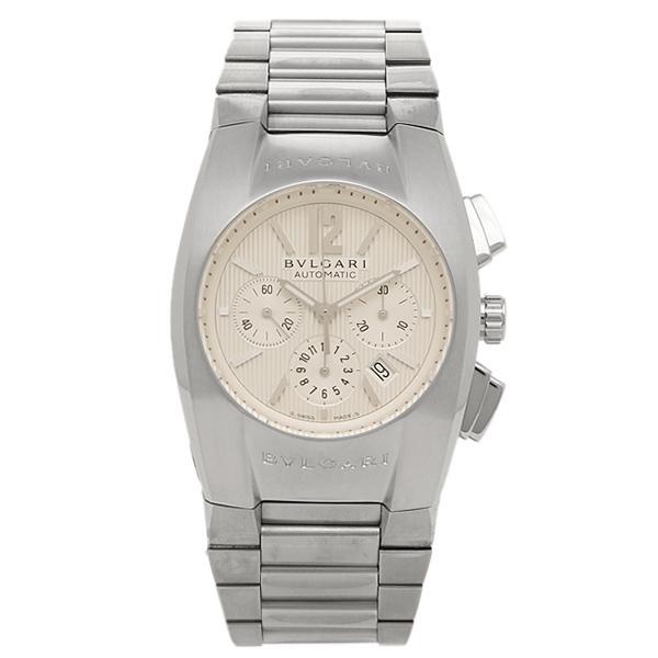 【48時間限定ポイント10倍】ブルガリ BVLGARI 時計 腕時計 メンズ ブルガリ 時計 メンズ BVLGARI EG35C6SSDCH エルゴン 腕時計 ウォッチ シルバー/ホワイト