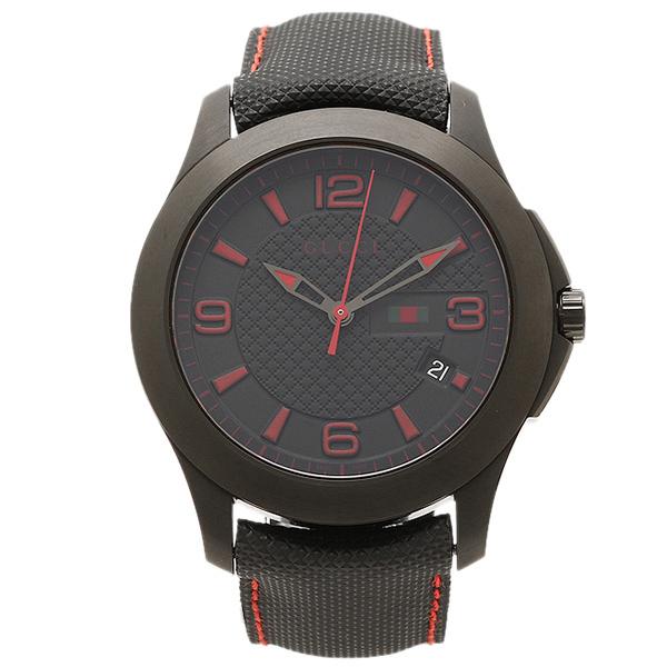 GUCCI グッチ Gタイムレス ブラック メンズ 腕時計 ウォッチ WATCH