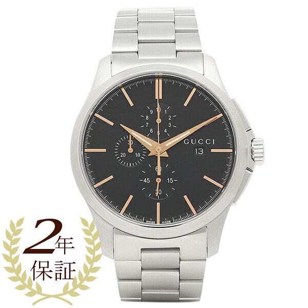 グッチ 腕時計 レディース GUCCI YA126272 ブラック シルバー