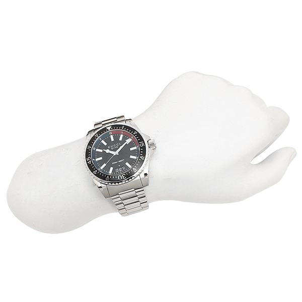 구찌 손목시계 GUCCI YA136212 네이비 실버