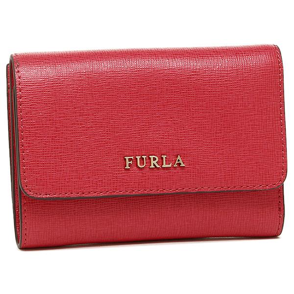 【4時間限定ポイント10倍】フルラ 折財布 レディース FURLA 872819 PR76 B30 RUB レッド