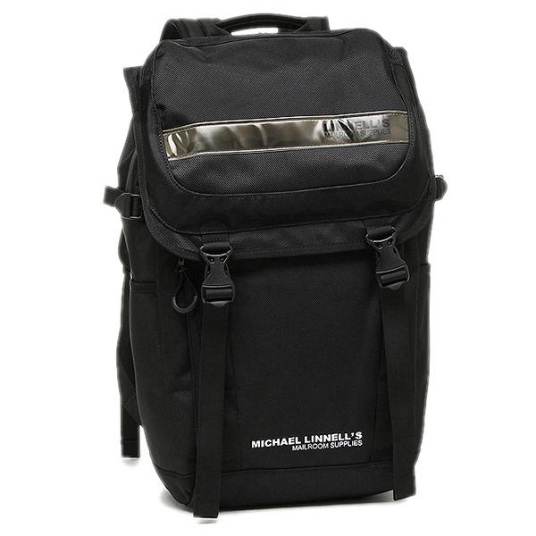 マイケルリンネル リュック MICHAEL LINNELL ML-018 約27L ブラック カモフラージュ