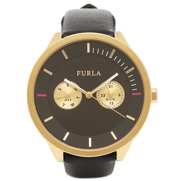 フルラ FURLA 腕時計 レディース R4251102501 866634 イエローゴールド/ブラック