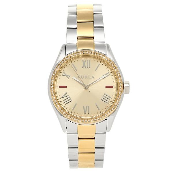 【返品OK】フルラ FURLA 腕時計 レディース R4253101514 イエローゴールド/シルバー