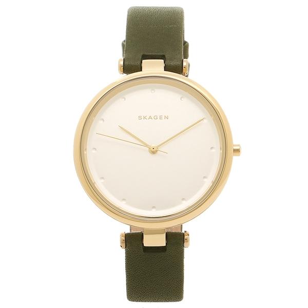 【2時間限定ポイント10倍】SKAGEN 腕時計 スカーゲン SKW2483 グリーン ゴールド シルバー