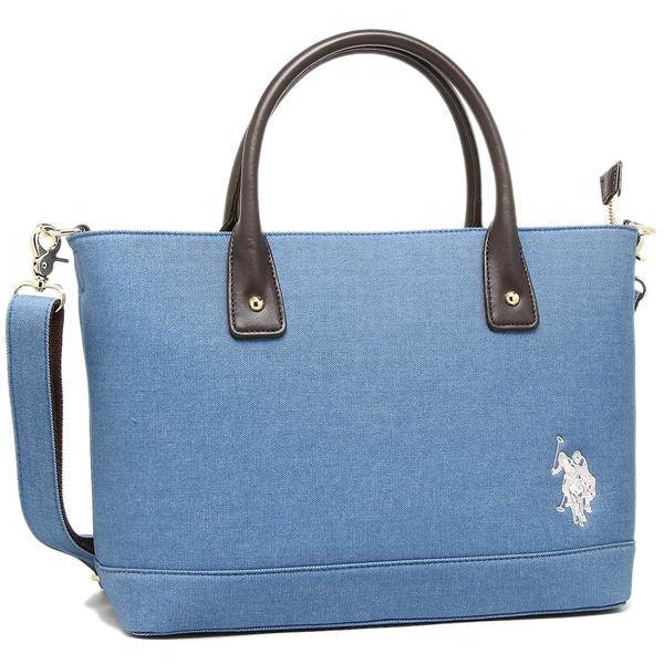 Brand Shop AXES  US polo tote bag US POLO ASSN USPA-2603 ブルー ... d3fc6d273b