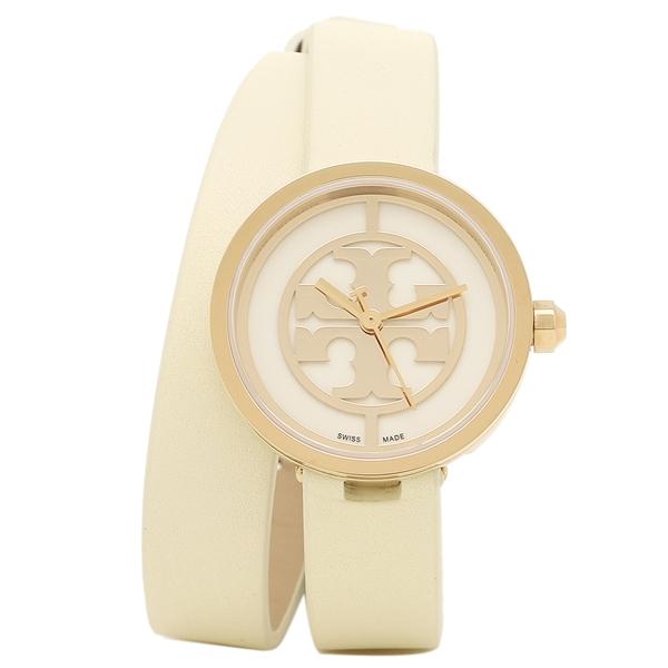 【2時間限定ポイント10倍】TORY BURCH 腕時計 アウトレット トリーバーチ TRB4007 レディース ホワイト ゴールド