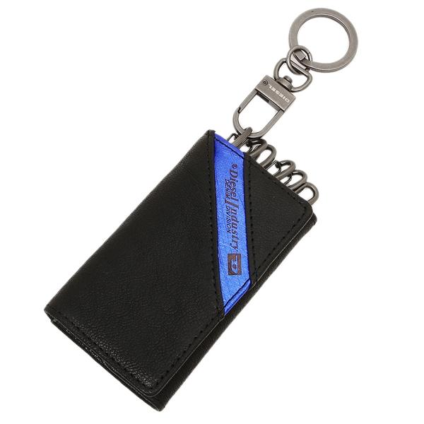 ディーゼル キーケース DIESEL X03613 P1221 H6169 ブラック ブルー