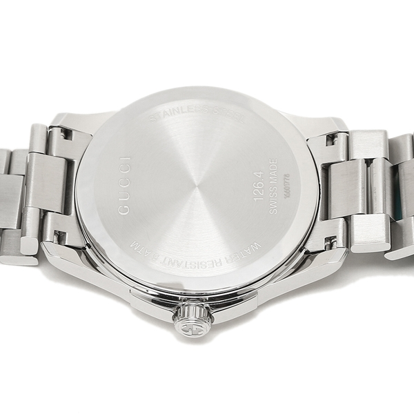 gucci 126 4. gucci watch gucci ya126459 silver 126 4 s