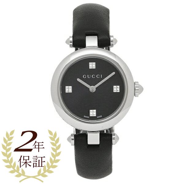 【9時間限定ポイント10倍】【返品OK】GUCCI 腕時計 レディース グッチ YA141506 シルバー ブラック