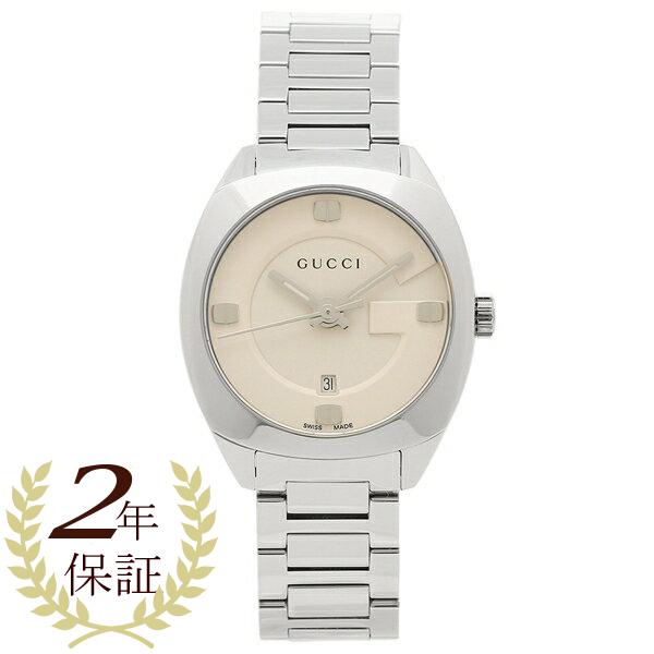 【期間限定ポイント5倍】【返品OK】GUCCI 腕時計 レディース グッチ YA142502 アイボリー シルバー