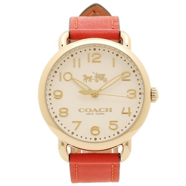 【24時間限定ポイント5倍】COACH 腕時計 レディース コーチ 14502719 レッド ゴールド