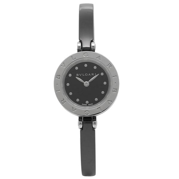 【期間限定ポイント10倍】BVLGARI 腕時計 レディース ブルガリ BZ23BSCC M ブラック シルバー