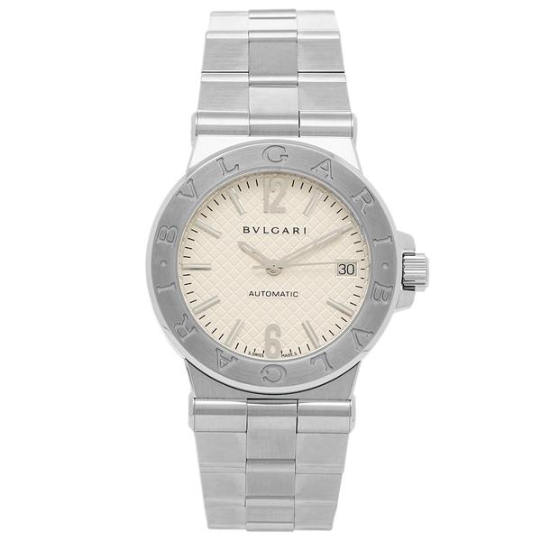【4時間限定ポイント5倍】BVLGARI 腕時計 レディース ブルガリ DG35C6SSD ホワイト シルバー